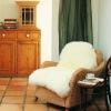 Real lambskin living room rugs