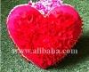 Red heart handmade pillow