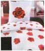 Rose print bedsheet