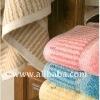 SYFAA 78903 Cotton Stripe Bath Towels