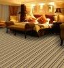 SYM90113D Quality Stripe Blend Hotel Room Floor Carpet