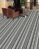 SYMD374 Quality Stripe PP Hotel Carpet