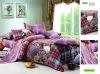 Scottish Taste! 100% combed cotton reactive printed bedding set