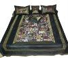 Silk King Size Bedspread Stunning Indian Ethnic Design