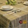Solid PE elegant table cloth