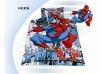 Spiderman children cotton bedding set