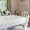 Square PVC Lace Tablecloths