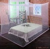 Square insecticide treated mosquito net with large place