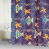 Stall shower curtain