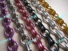 Standard Aluminium Chain Link Curtain With Assorted Colors