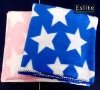 Star Printed basic fleece throw