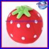 Stawberry throw pillow