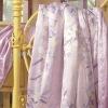Summer Handmade Violet Silk Printed Quilt