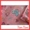 Sweet Heart Printed Coral Fleece Blanket for promotional