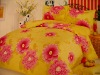T/C 50/50 fabric   flower fashion bed sheet sets