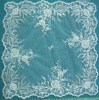 T0251-BC Polyester square table cloths in lace design