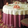 TC0045 Lace fabric round tablecloths