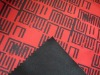 TPU 100% polyester red jersey printed fabric