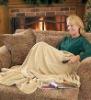 TV Blanket Polar Fleece Camel Color