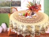 TXTB-053 100%polyester warp knitted colors lace table cover