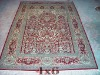 Tabriz hand knotted Persian silk rugs