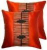 Thai Silk Decorative Pillow Case