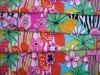 The New Favorite Lotus Printed Knitted Bikini & Swimwear Fabric