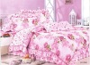 The brushed 100% cotton bedding set with active print