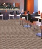 The western restaurant tutfed wall to wall carpet