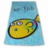 Thick Oversized Printed Beach Towel Hot