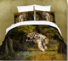 Tiger Printed Bedding set/Bed Sheet