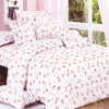 Top grade printed cheap 4pcs bedding set