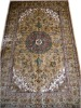 Traditional Area Rugs/Silk Rugs/Persian Rugs/Light Brown Rugs