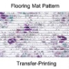 Transfer-printed PVC Floor carpets,flooring carpet
