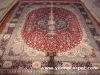 Turkish silk carpet