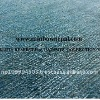 Turquoise Blue Allo Wool Silk Plain Floor Carpet