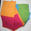 Two Colors Stripe Yarn Dyed Waffle Kitchen Towell