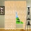 Txcl-059 100%polyester warp knitting window curtain