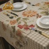 Unique Europe Pastoral Style Floral Printed Table Runner Table Cloth Table Linen