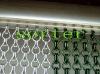 Unique metal decorative link chain curtain