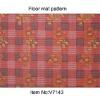 V7143-Red PVC Floor mats,Foam mat,Non-skid area rug