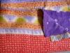 Vintage Handmade Cotton Bedspread