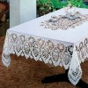 Vinyl Crochet Table Cloth