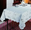 Vinyl Crochet Table Cloth