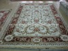 Viscose carving carpet