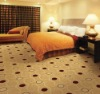 Wall to wall carpet for hotel guest room