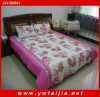 Washable comfortable and beautiful bedding set polyester