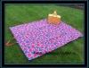 Waterproof folding travel blanket