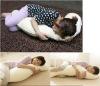 White Sleeping Pregnancy Pillow