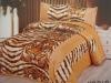 Whole Sale 100% Polyester Filled Satin Comforter Set